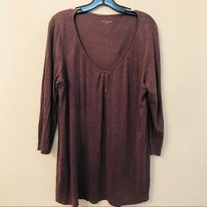Eileen Fisher Brown Blouse Size L